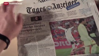 Video «Zeitungen und Zeitschriften verlieren stark an Lesern» abspielen