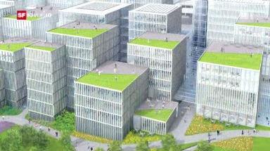 Video «Flughafen Zürich plant Luxusausbau» abspielen