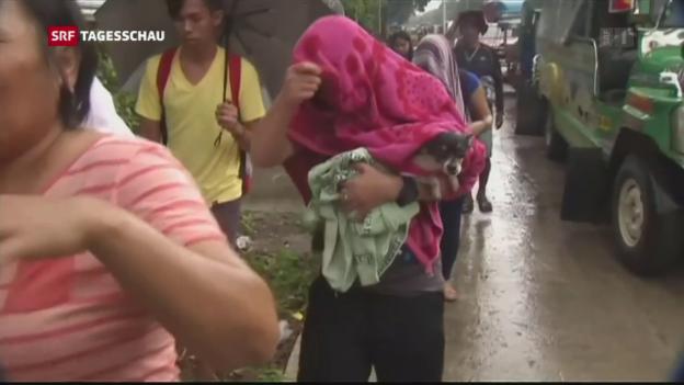 Video «Tausende sind auf der Flucht» abspielen