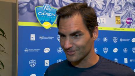 Link öffnet eine Lightbox. Video Federer: «Im Verlauf des Turniers wird alles klarer» abspielen