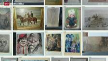 Video «Kunstfund München: weitere Bilder werden veröffentlicht» abspielen