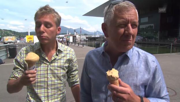 Video ««Donnschtig-Jass» 2014: Röbi Kollers Aufgabe» abspielen