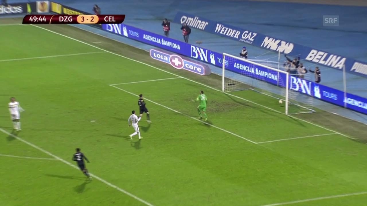 Fussball: Europa League, Zagreb - Celtic