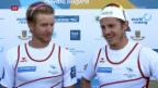 Video «WM-Silber für Gmelin und den Doppelzweier» abspielen