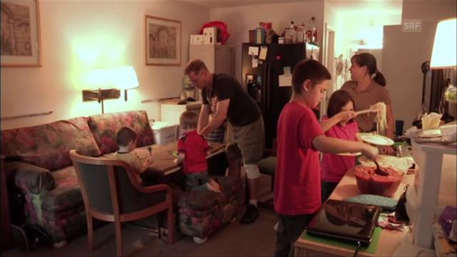 Terry und seine Familie leben auf engstem Raum