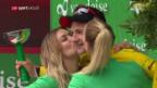 Video «Juul-Jensen siegt im Regen, Küng weiter in Gelb» abspielen