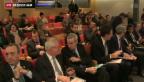 Video «Sorgenvolle Wirtschaftskapitäne» abspielen