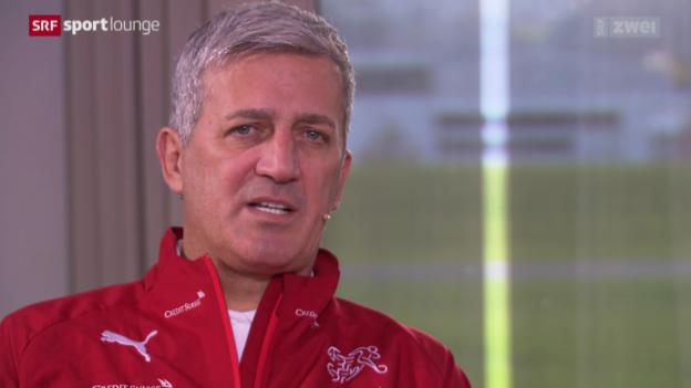 Video «Vladimir Petkovic: der Nationaltrainer im Gespräch» abspielen
