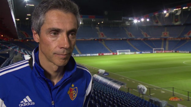 Video «Fussball: Champions League, Basel - Ludogorets Rasgrad, Interview mit Paulo Sousa» abspielen