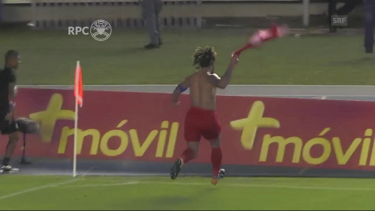 31 Mal «Goal» in 45 Sekunden