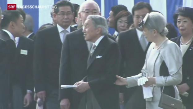 Video «Japanischer Abgeordneter begeht Tabubruch wegen Fukushima» abspielen