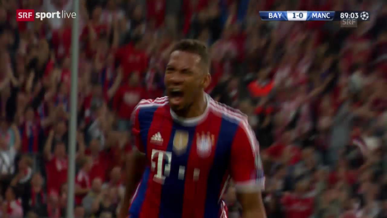 Fussball: Champions League, Bayern - ManCity