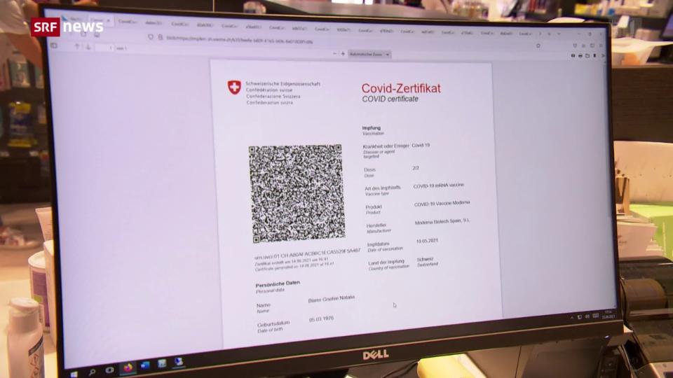 Aus dem Archiv: Von Corona genesen, aber kein Zertifikat