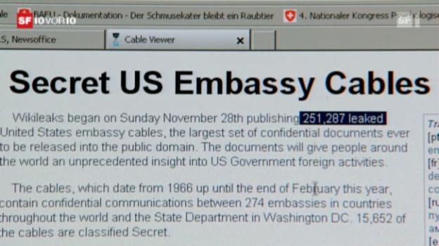 Video «Wikileaks schockt Amerikas Diplomatie» abspielen