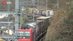 Video «Protest gegen Ausbau der SBB-Güterstrecke nach Italien» abspielen