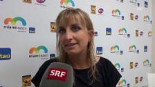 Video «Bacsinszky: «Diese Woche war riesig für mich»» abspielen