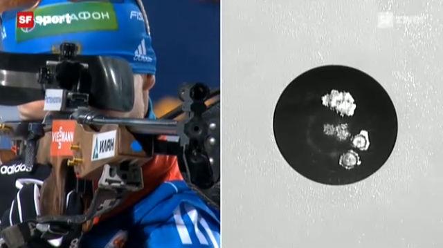 Biathlon: Mixed-Staffel in Östersund