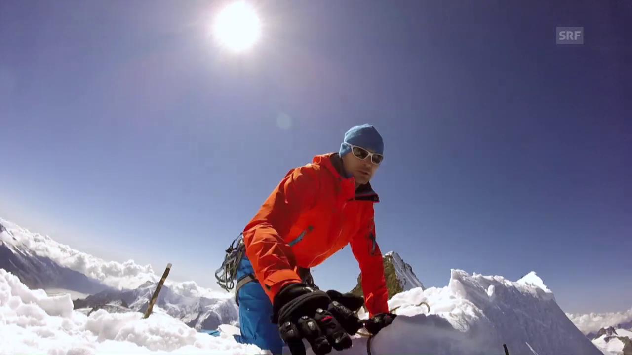 Patrick Kerber im Jungfraugebiet