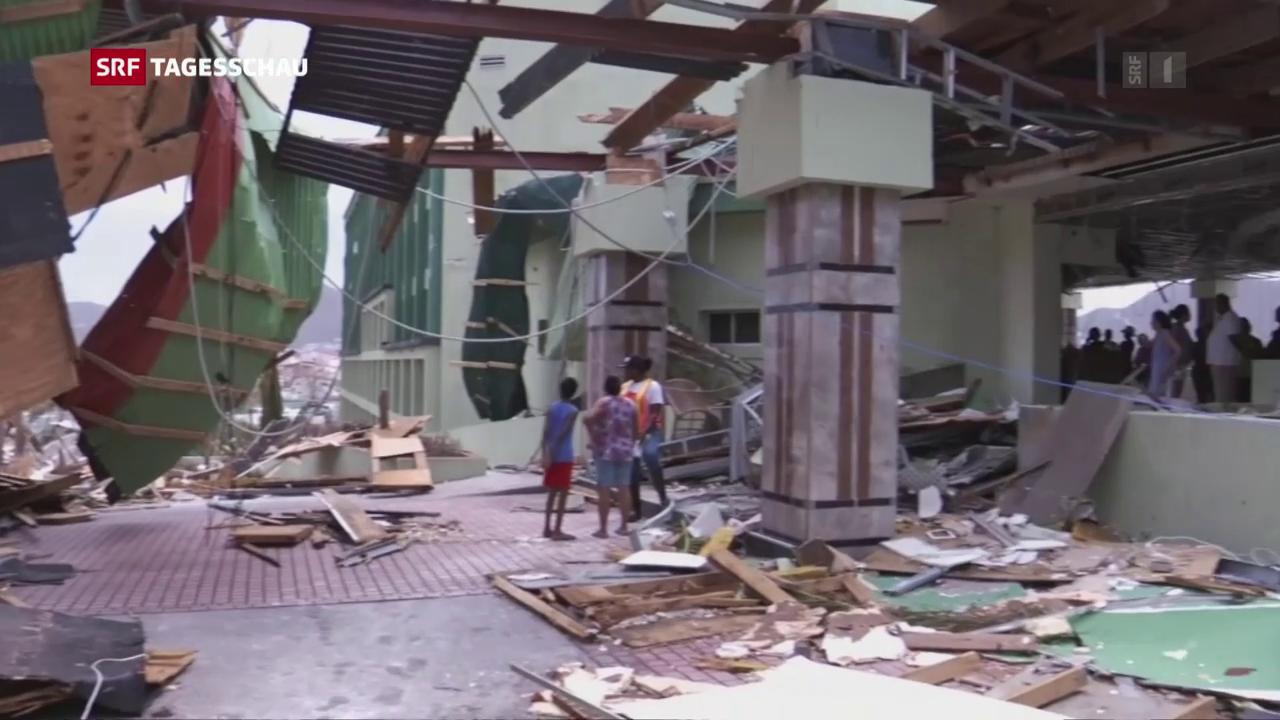 So wütete Hurrikan «Irma»