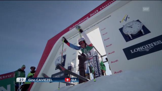 Der 1. Lauf von Gino Caviezel