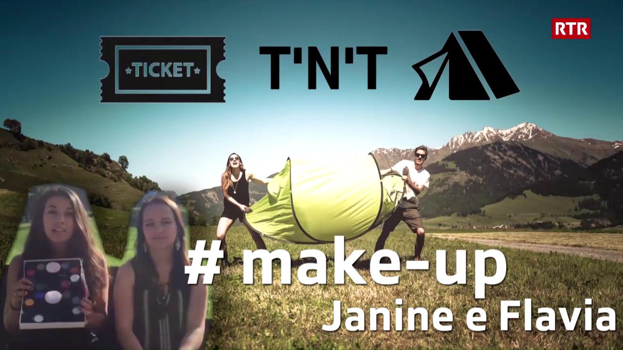 Victuras tickets e tendas - Janine e Flavia