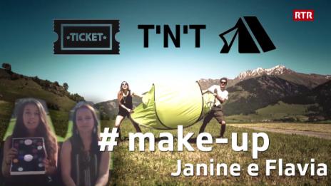 Laschar ir video «Victuras tickets e tendas - Janine e Flavia»