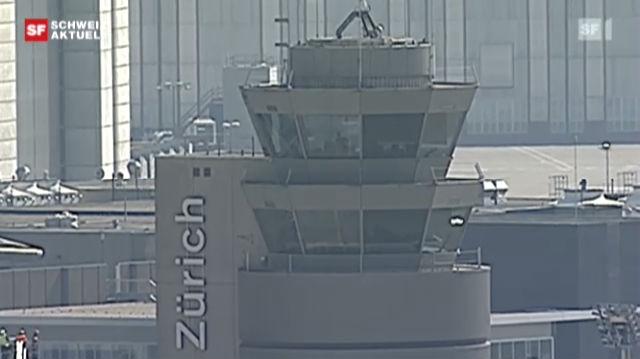 Der Flughafen Zürich