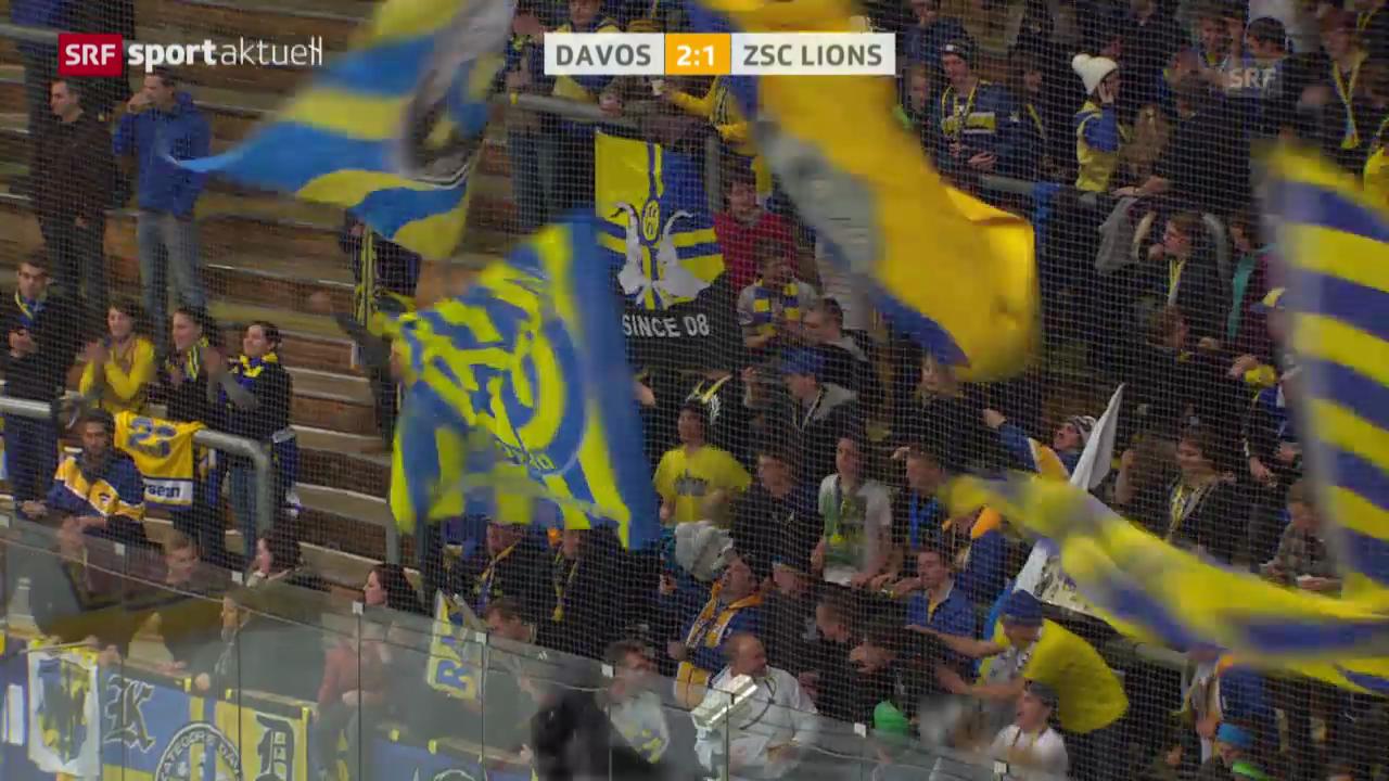 Eishockey: NLA, Davos - ZSC Lions («sportaktuell»)
