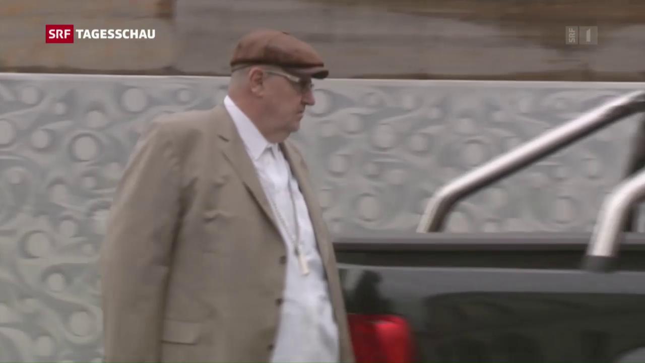 Finanz-Jongleur Dieter Behring vor Gericht