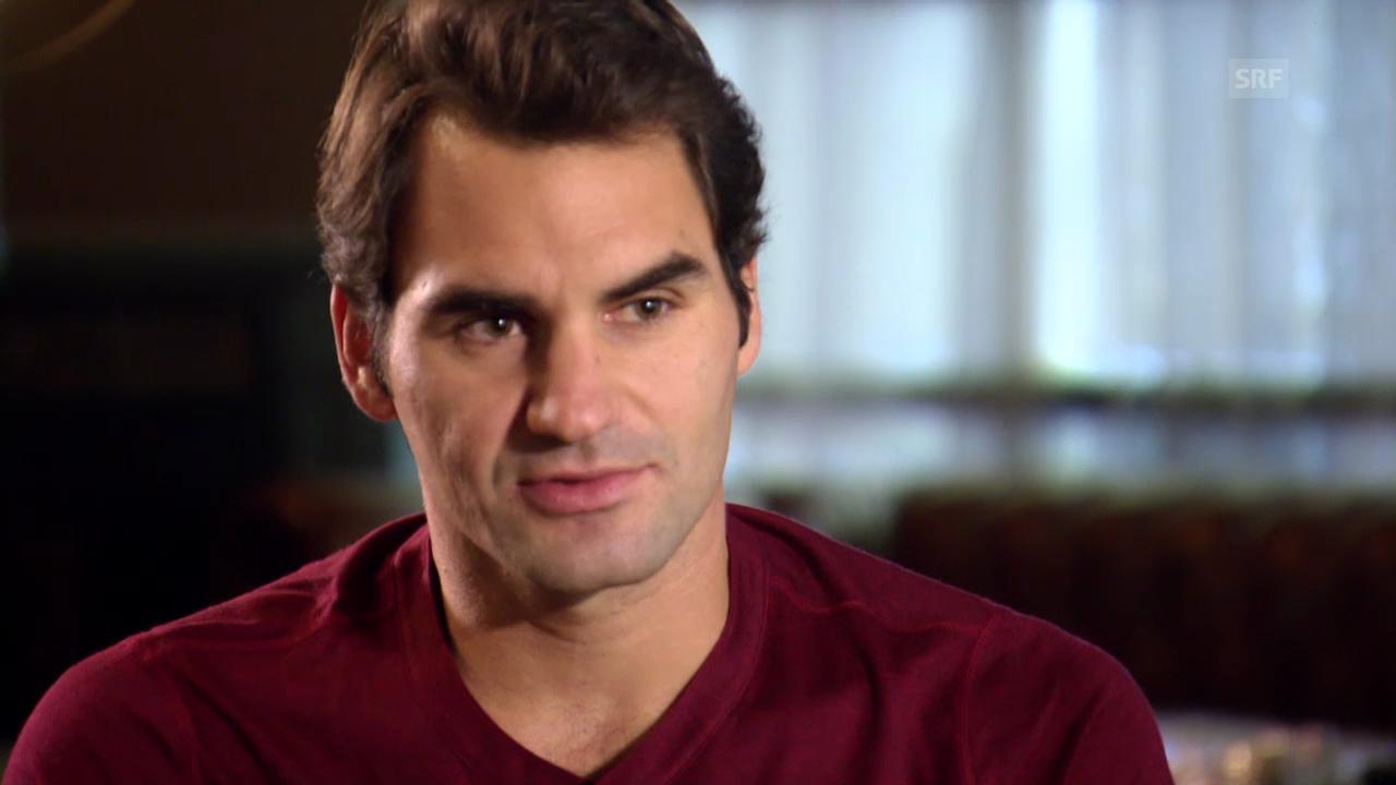 Tennis: Federer und Wawrinka im Gespräch über ihre Beziehung