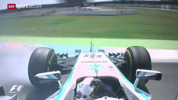 Video «Formel 1: Qualifying GP Deutschland» abspielen