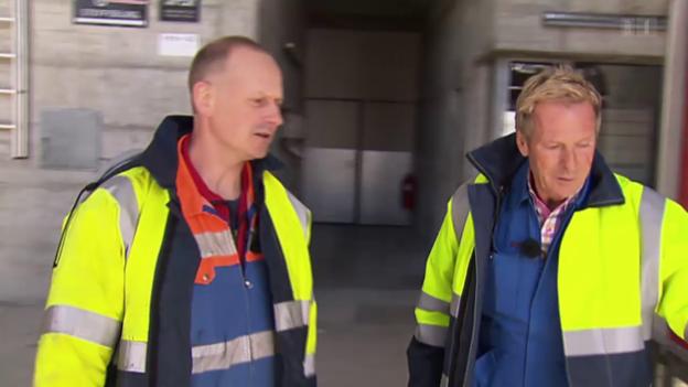 Video ««Aeschbachers Sommerjob» mit Kraftwerkarbeiter Beat Tännler» abspielen