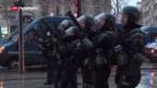 Video «Unbezahlte Überstunden der französischen Polizei» abspielen