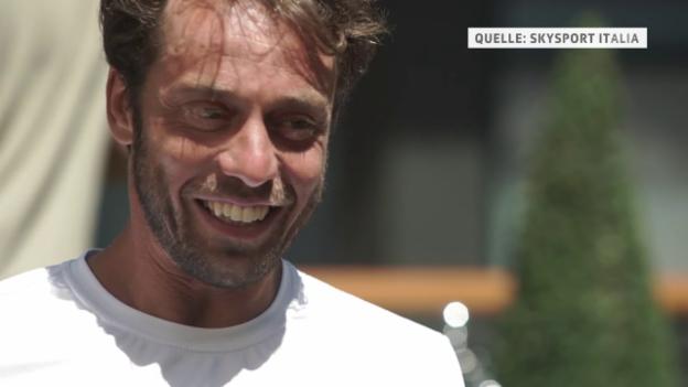 Video «Lorenzi über den Status als Gesetzter (ital.)» abspielen