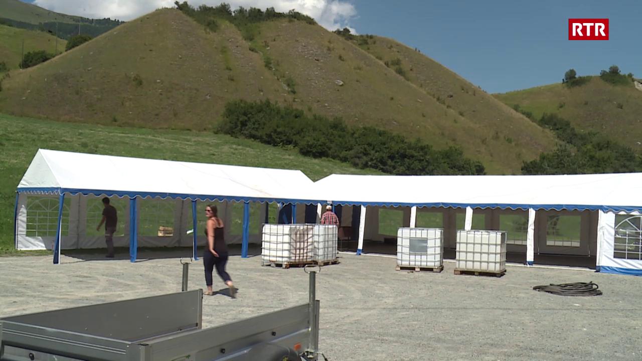 Open air a l'En: pitschen festival - grond engaschi