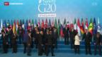Video «G20-Gipfel im Schatten der Pariser Anschläge» abspielen