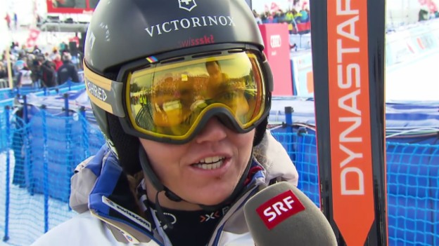 Video «Fabienne Suter im Interview nach Rang 2 in Lenzerheide» abspielen