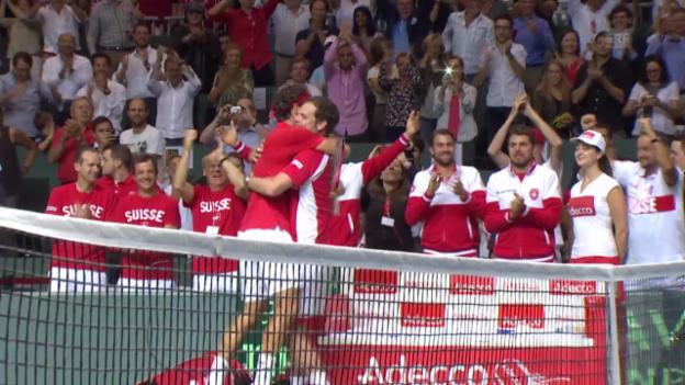 Video «Tennis: Davis Cup, der Schweizer Weg in den Final» abspielen