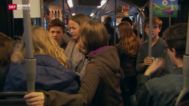 Video «Späterer Schulanfang gegen Verkehrsüberlastung» abspielen