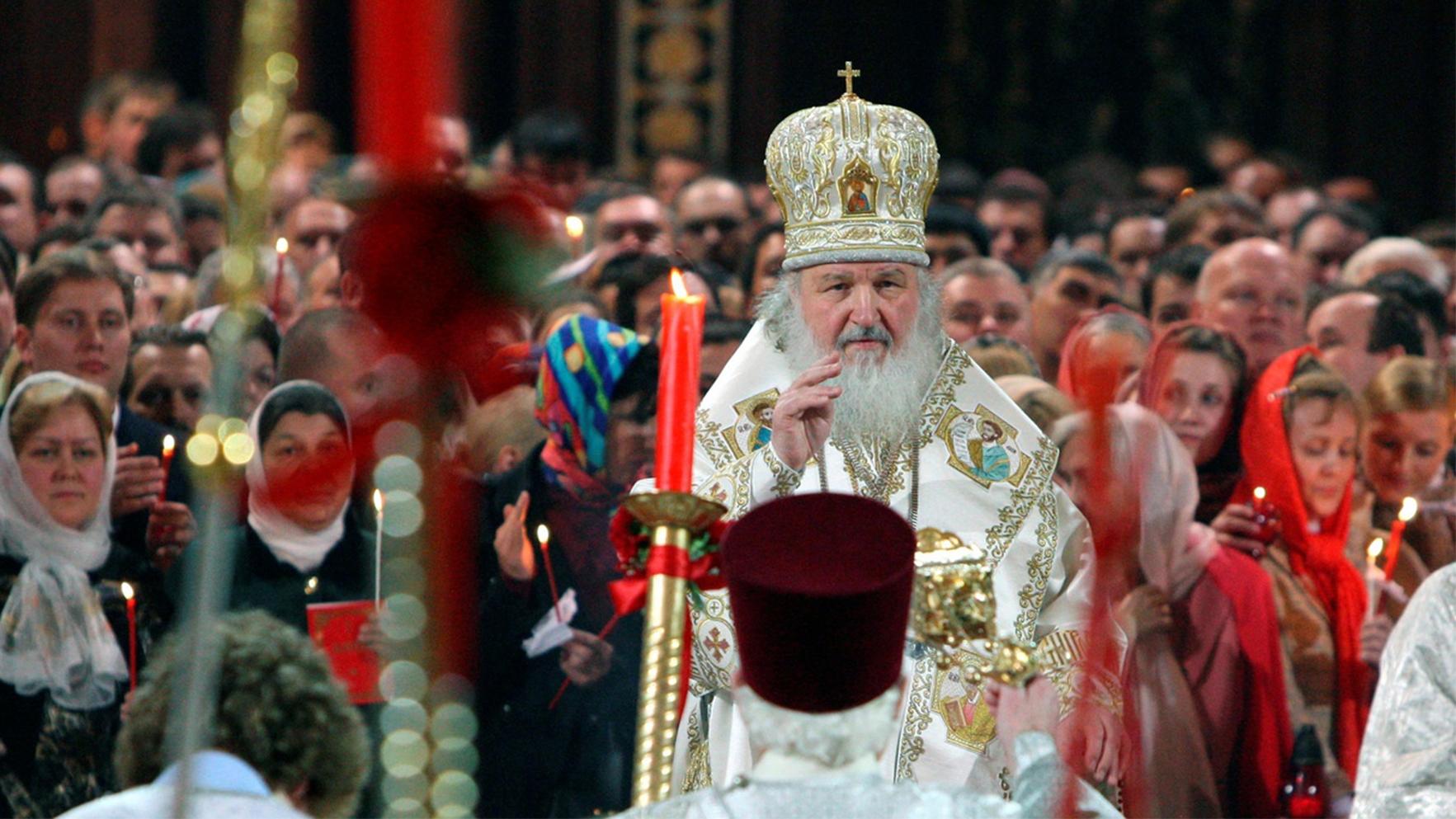 «Христос воскрес!» Russische Ostergrüsse.