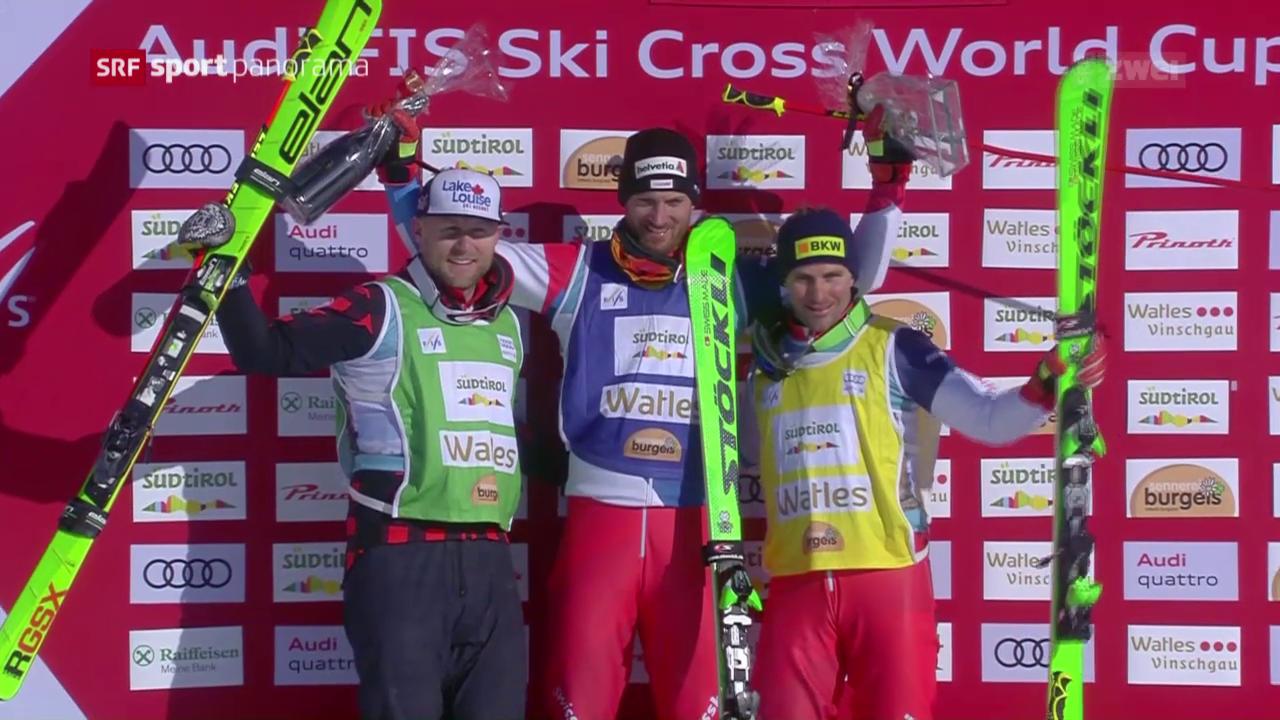 Schweizer Skicrosser schlagen erneut zu