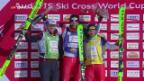 Video «Schweizer Skicrosser schlagen erneut zu» abspielen