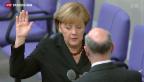 Video «Merkel wieder Kanzlerin» abspielen