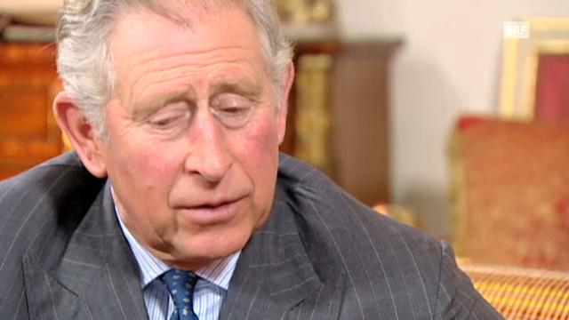 Prinz Charles über den Militär-Einsatz von Prinz Harry