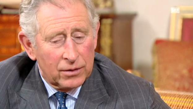 Video «Prinz Charles über den Militär-Einsatz von Prinz Harry» abspielen