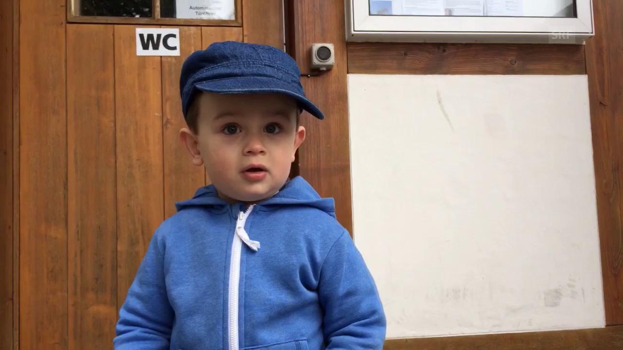 «Ready, Steady, Golf!»: Der kleinste grösste Fan