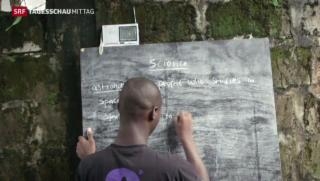 Video «Radio-Unterricht wegen Ebola» abspielen