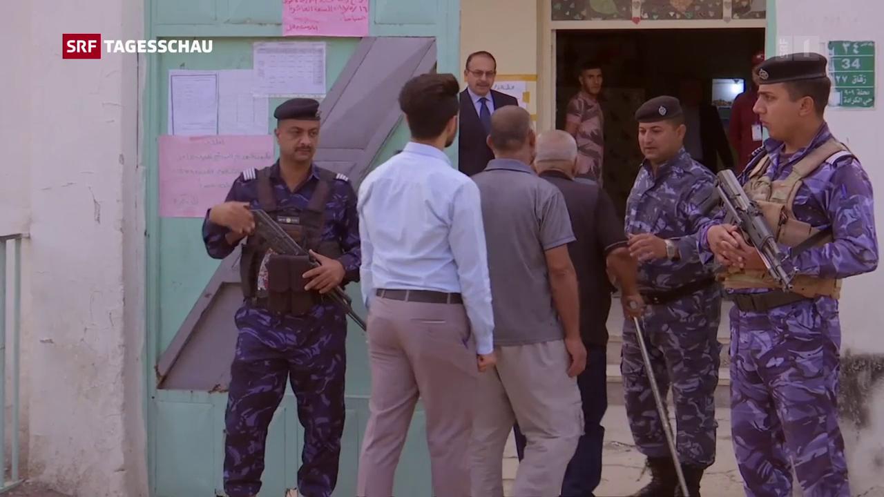 Wahlen im Irak: Wahlbeteiligung eher gering