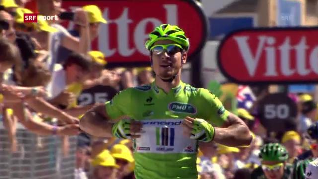 Sprint-Sieg von Sagan in Albi («sportaktuell»)