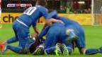 Video «FUSSBALL: EM-Quali, die Tore bei Italien - Kroatien» abspielen